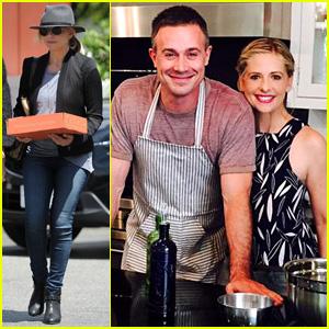 Sarah Michelle Gellar Helps Announce Hubby Freddie Prinze Jr.'s First Cookbook!