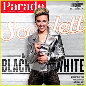 Scarlett Johansson Talks Being a Wife & Mother in 'Parade'