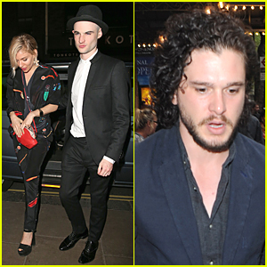 Sienna Miller & Kit Harington Support Tom Sturridge at 'American Buffalo' Opening Night