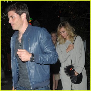 Suki Waterhouse & James Marsden Grab Dinner Together