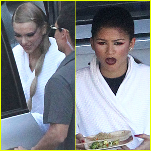 Taylor Swift & Zendaya Reportedly Film Her 'Bad Blood' Music Video Together!