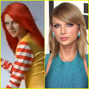 This Japanese McDonald's Model Looks Just Like Taylor