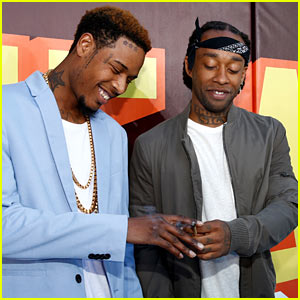 Ty Dolla Sign & Fetty Wap Light Up at MTV Movie Awards 2015