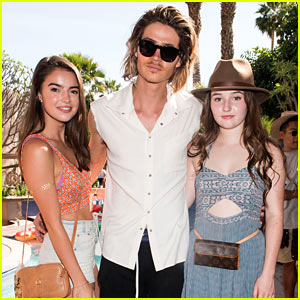 Will Peltz, Kaitlyn Dever, & Katherine Hughes Reunite at Just Jared's Festival Party Presented by Sonix!