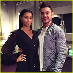 Zac Efron Brought Girlfriend Sami Miro to MTV Movie Awards 2015!