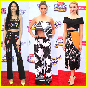 Zendaya, Maia Mitchell & Peyton List Show Some Skin at RDMAs 2015