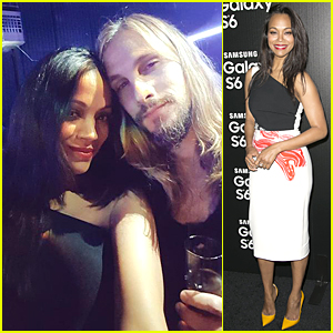 Zoe Saldana & Marco Perego Take Cutest Selfie on Samsung Galaxy S6 Edge
