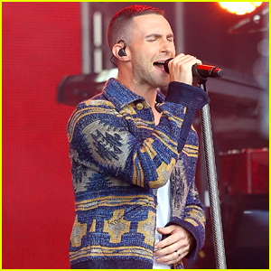 Adam Levine Looks So Angry After Sugar Bomb Incident (Video)