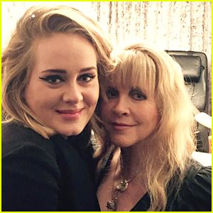 Adele Fangirls Over Stevie Nicks - See the Cute Pic!