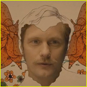Alexander Skarsgard Sports Mustache in 'Diary Of a Teenage Girl' Official Trailer - Watch Now!