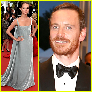 Alicia Vikander Supports Boyfriend Michael Fassbender at 'Macbeth' Cannes Premiere!