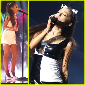 Ariana Grande Performs On 'The Voice' In Italy