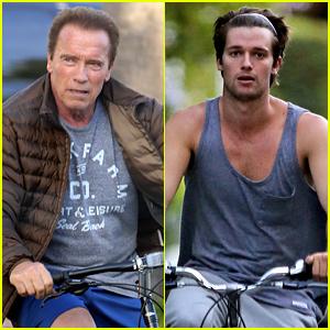 Arnold Schwarzenegger Is a Big Snapchat Fan!