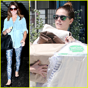 Ashley Greene Can Barely Handle All Her Dry Cleaning