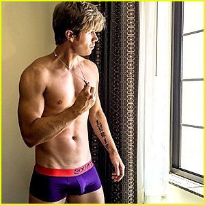 Ashley Parker Angel Leaves Little to the Imagination in Skimpy Briefs