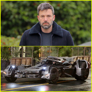 Ben Affleck's Batmobile Seen on 'Suicide Squad' Set in a Chase Scene (Video)