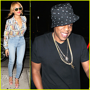 Beyonce & Jay Z Don't Let Tidal Drama Affect Their Dinner Plans