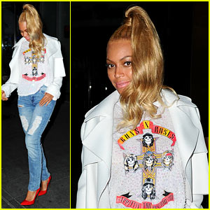 Beyonce Still Has Her Met Gala Ponytail in Place!