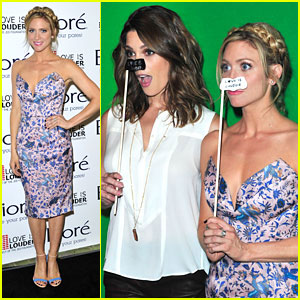 Brittany Snow Hosts Love Is Louder Event With Biore - See The Pics!