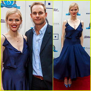 Brooklyn Decker & Andy Roddick Glam Up After Pregnancy Announcement!