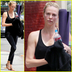 Charlize Theron is Back in L.A. After Cannes Film Festival 2015