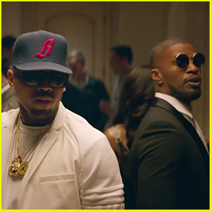 Chris Brown & Jamie Foxx Party It Up in 'You Changed Me' Music Video - Watch Now!