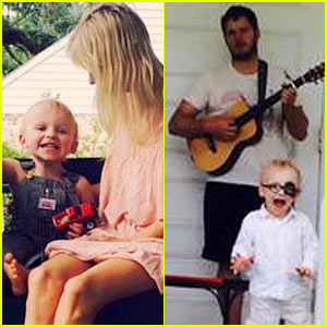 Chris Pratt & Anna Faris Share Cute New Photos of Son Jack!