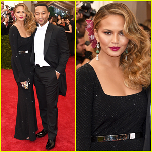 Chrissy Teigen & John Legend Keep It Classy at Met Gala 2015!