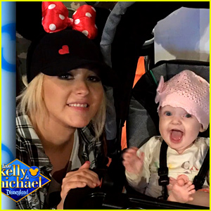 Christina Aguilera Shares Cute New Photos of Daughter Summer Rain at Disneyland!