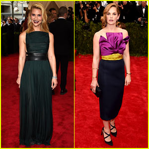 Claire Danes & Ruth Wilson Glam Up for Met Gala 2015