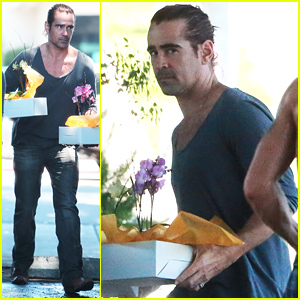 Colin Farrell Drinks His 'Body Weight' in Green Juice!