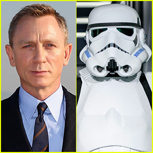 Daniel Craig Reportedly Joins 'Star Wars' as a Stormtrooper