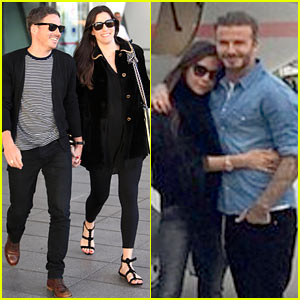 David Beckham Flies to Morocco for 40th Birthday Party