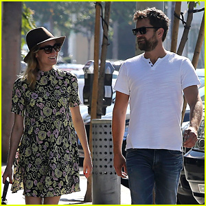 Diane Kruger & Joshua Jackson Smile Lovingly at Each Other