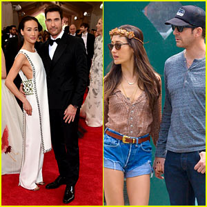 Dylan McDermott Accompanied Maggie Q to the Met Gala!