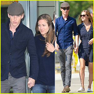 Eddie Redmayne & Wife Hannah Bagshawe Jet to London Following Met Gala