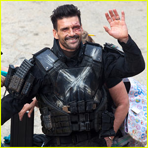 Frank Grillo Is Unmasked as Crossbones on 'Civil War' Set