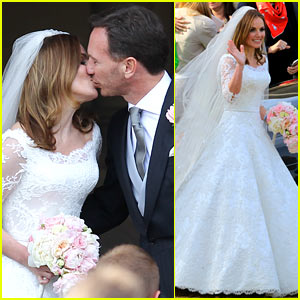 Geri Halliwell Is Married See The E S Wedding Photos