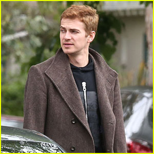 Hayden Christensen Takes a Break From Work to Hang With Friends