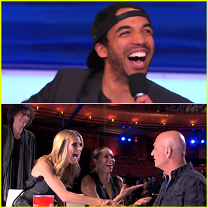 This Drake Lookalike Hypnotized Howie Mandel on 'America's Got Talent' Season 10 Premiere! (Video)