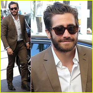 Jake Gyllenhaal Dresses to Impress for First Cannes Event