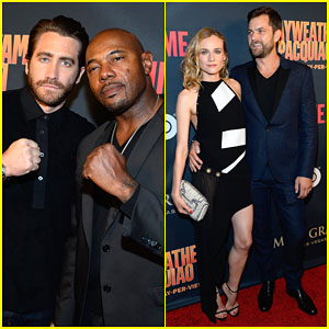 Jake Gyllenhaal Gets Pumped For the Mayweather Vs. Pacquiao Fight