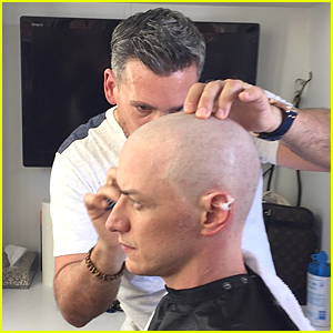 James McAvoy Rocks Shaved Head For 'X-Men Apocalypse'