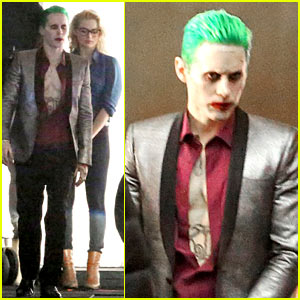 Jared Leto Fights & Kisses Margot Robbie for 'Suicide Squad'