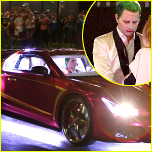 Jared Leto & Margot Robbie's Stunt Doubles Film Cool New 'Suicide Squad' Car Scene