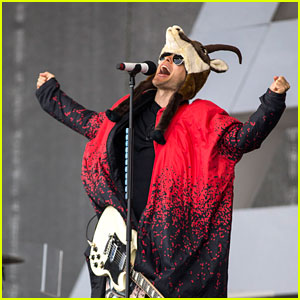 Jared Leto Performs in Crazy Outfit During Thirty Seconds to Mars Concert