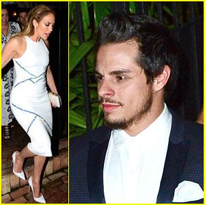 Jennifer Lopez Grabs Dinner With Casper Smart After Selena Tribute