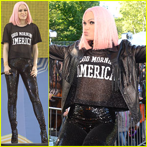 Jessie J 'Sweet Talk's Her Way Around 'Good Morning America'