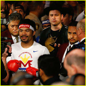Jimmy Kimmel Steals the Show As Manny Pacquiao's Hype Man