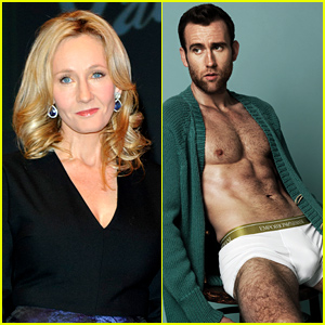 J.K. Rowling & Matthew Lewis Have the Funniest Twitter Exchange After His Shirtless Sexy Photo Shoot